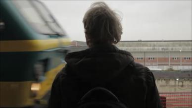 Still making of trein der gedachten 1 - Robbin Rooze